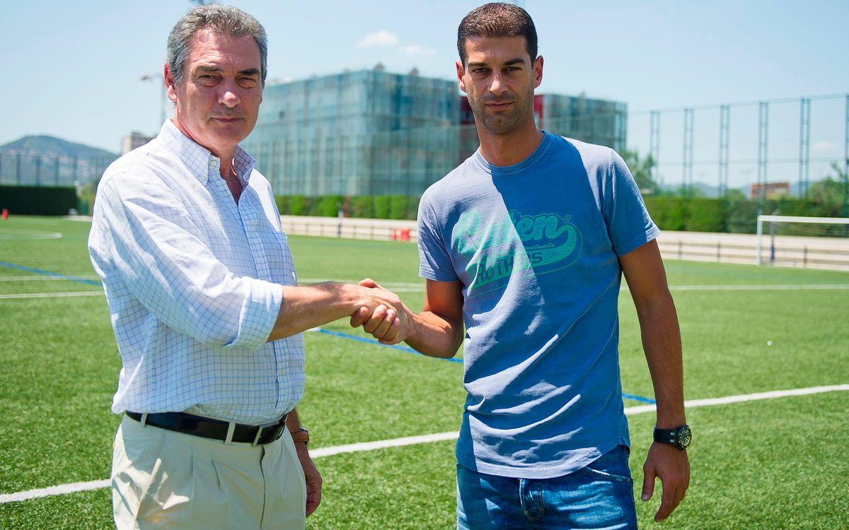 Gerard López new Barça B coach