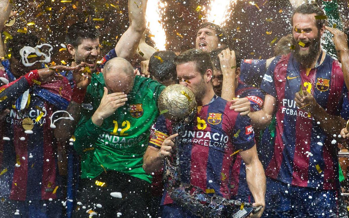 Les 38 Copes d'Europa del FC Barcelona