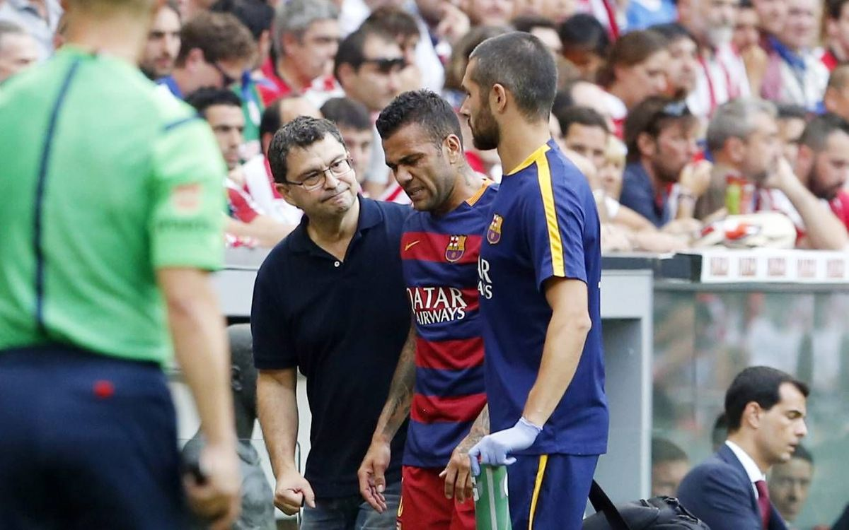 More tests on Monday for Alves and Busquets