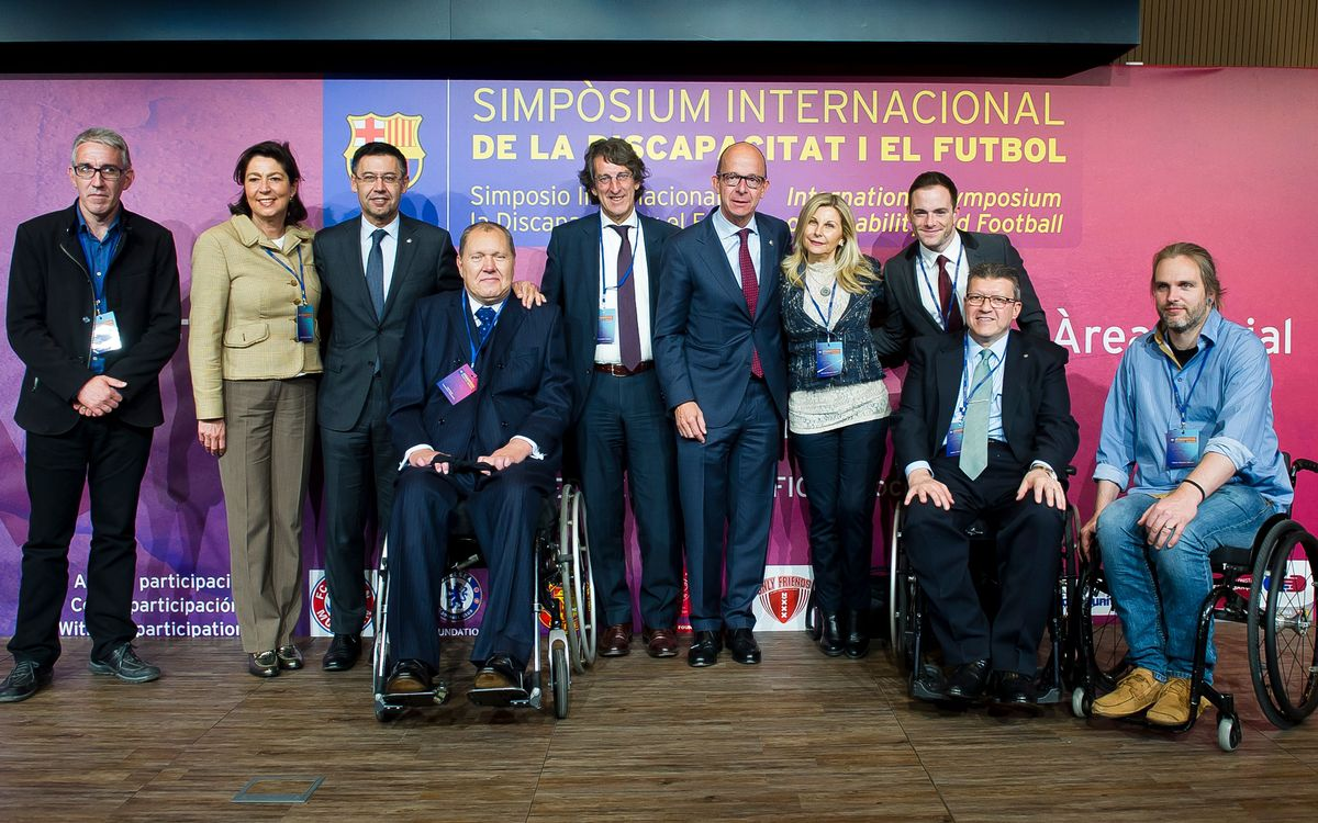 International Symposium on Disability and Football begins