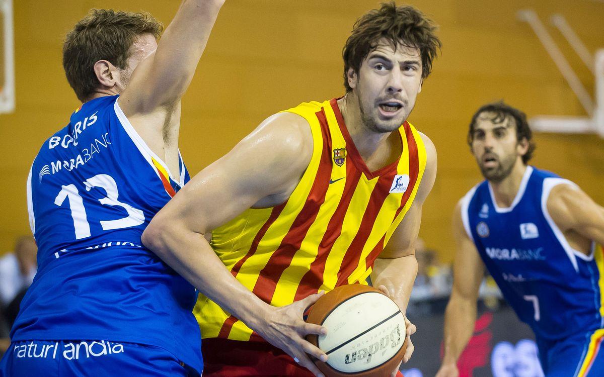 El Barça Lassa s'enfrontarà al Manresa en la semifinal de la Lliga Nacional Catalana ACB