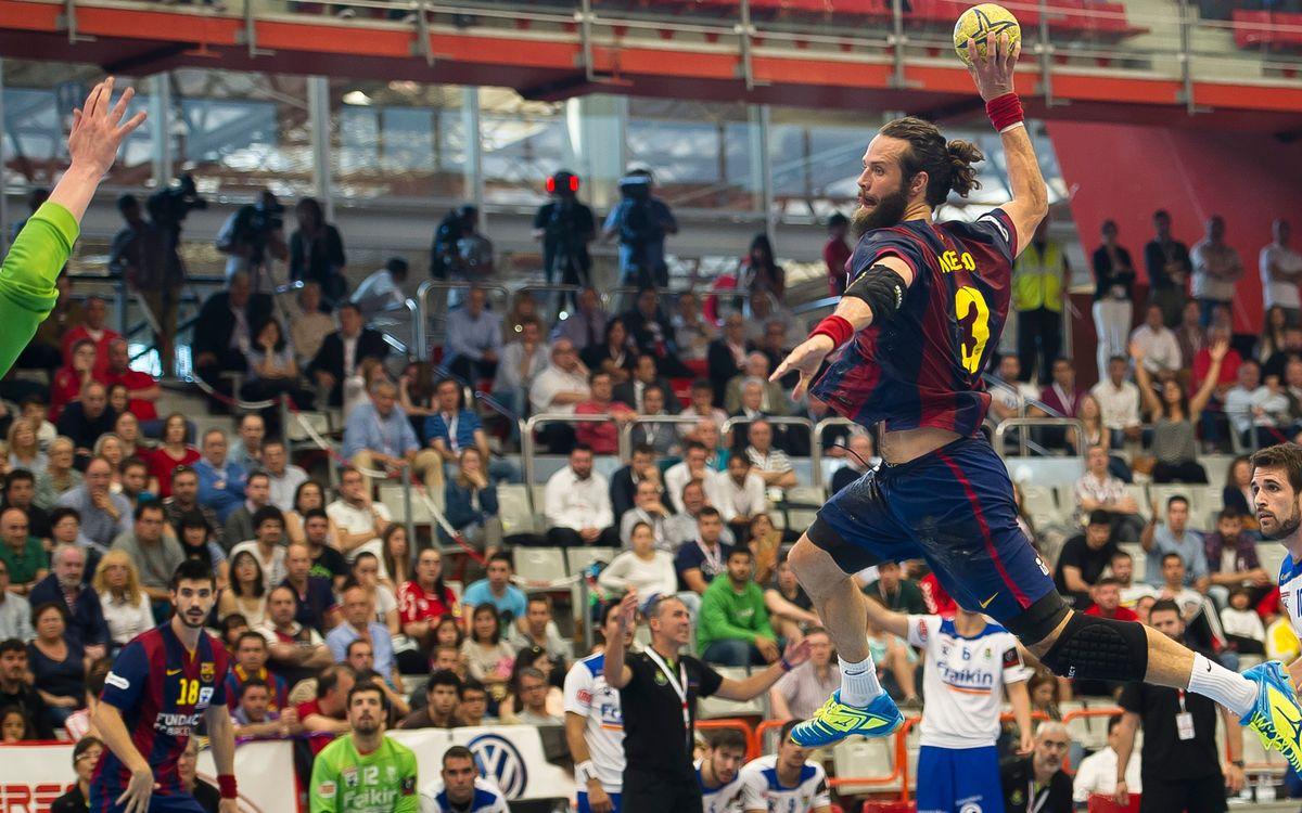 80 triomfs seguits del Barça d'handbol, en competició estatal