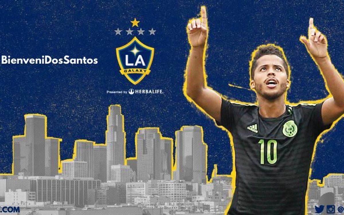 Giovani Dos Santos signs for Los Angeles Galaxy