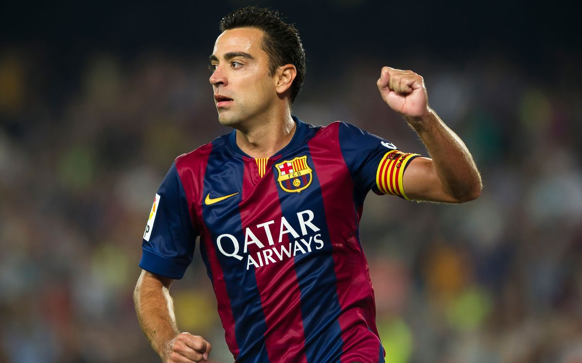 Xavi Hernández's eighth league title