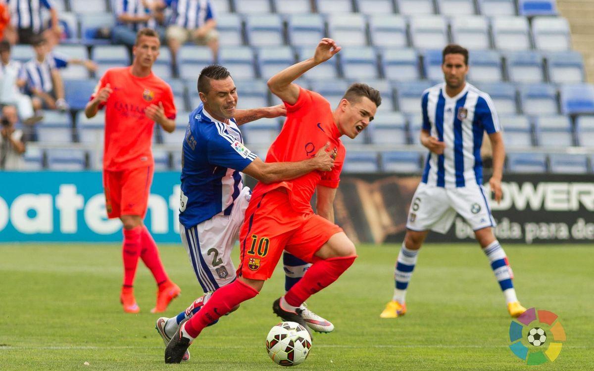 Recreativo – Barça B: Derrota a Huelva per tancar la temporada (2-0)