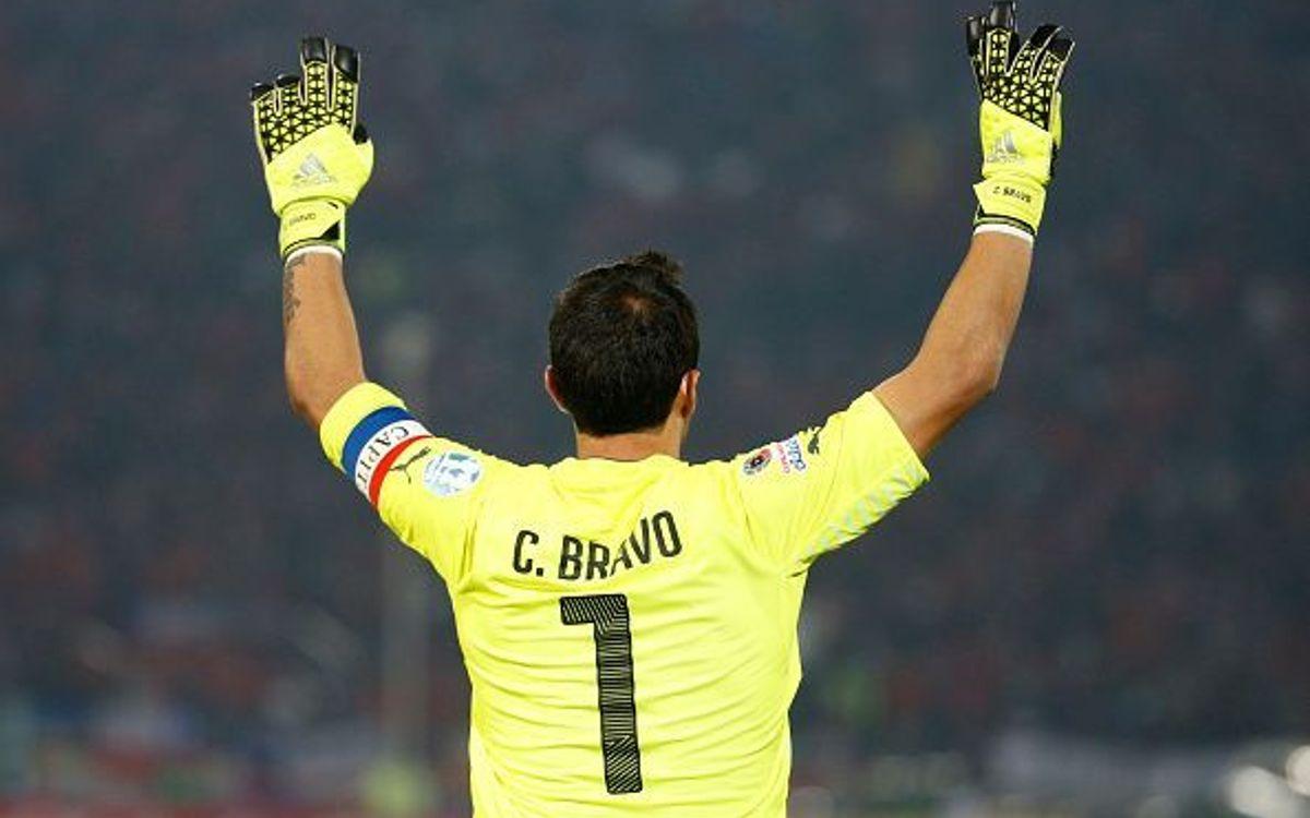 Claudio Bravo inicia els quarts de final de la Copa Amèrica