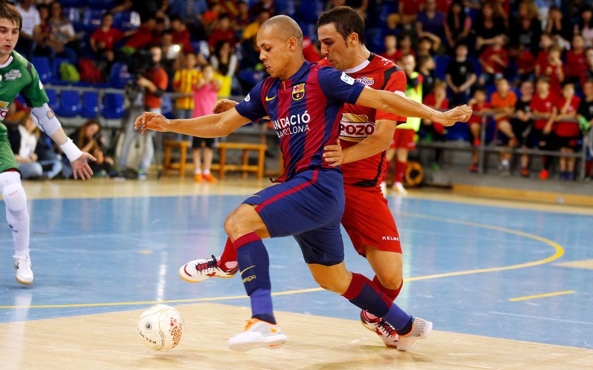El Pozo Múrcia v FC Barcelona: Third game required (2-1)