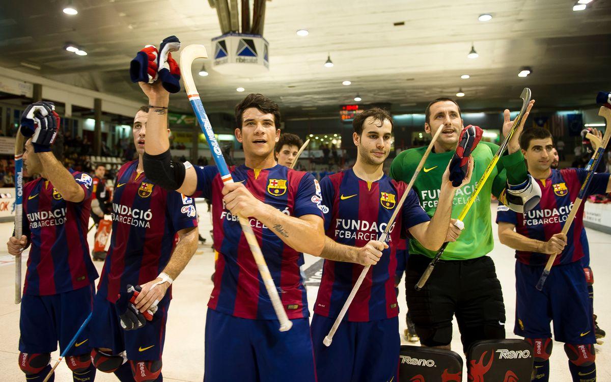 El Barça d'hoquei, en disposició de completar la millor temporada de la història a l'OK Lliga