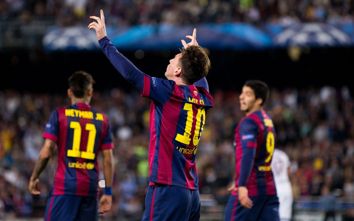 Lionel Messi is Mr. Champions League
