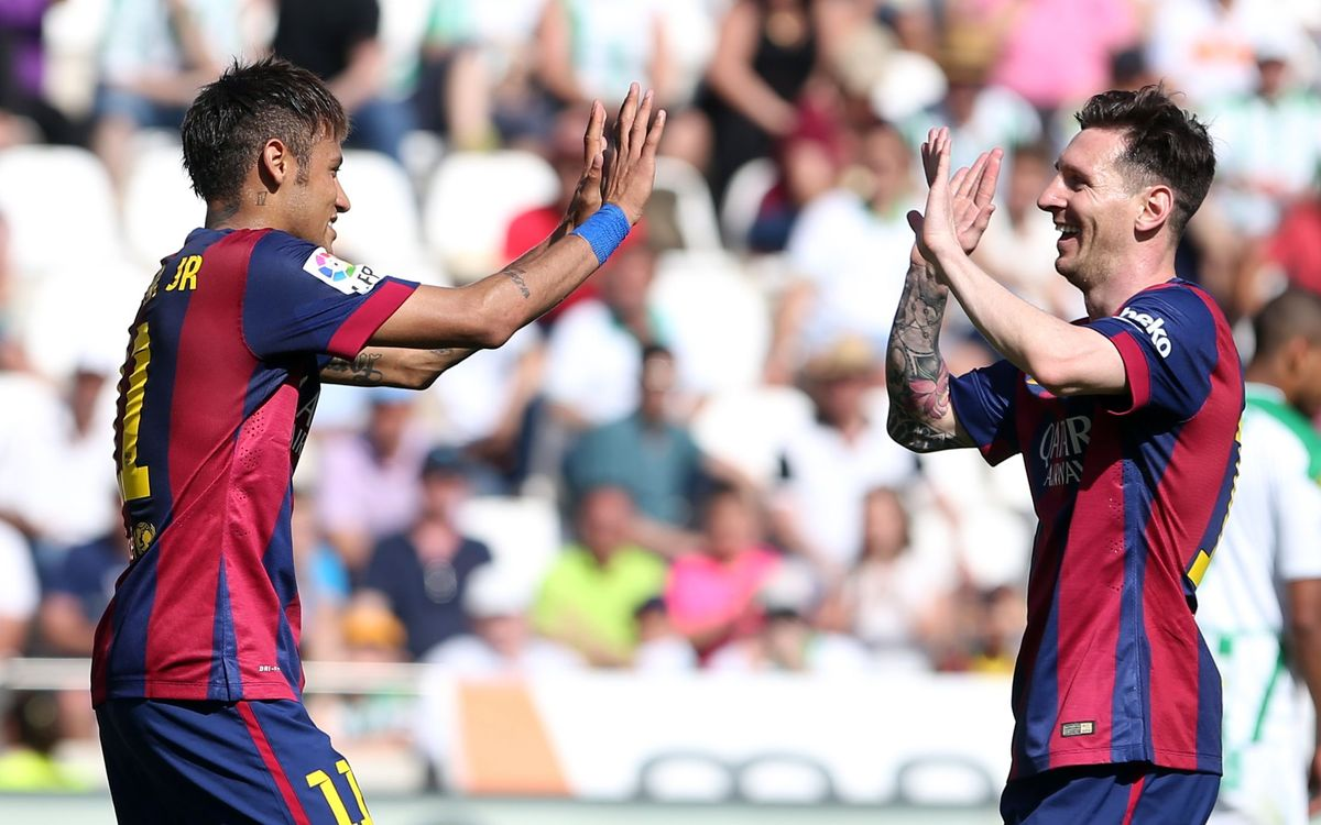 Neymar and Messi share special bond