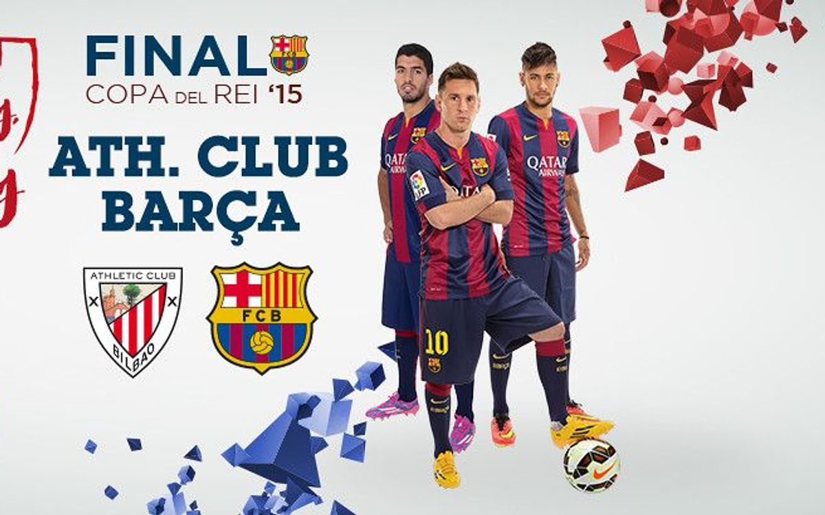 This Monday, 11 May, at 9.00am CET, Spanish Cup final tickets on sale for selected members