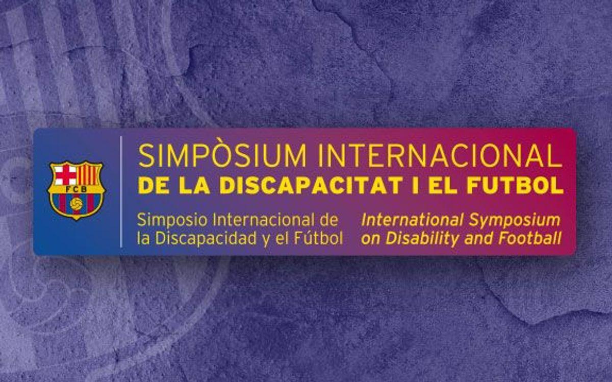 Presentació del Simpòsium Internacional de la Discapacitat i el Futbol