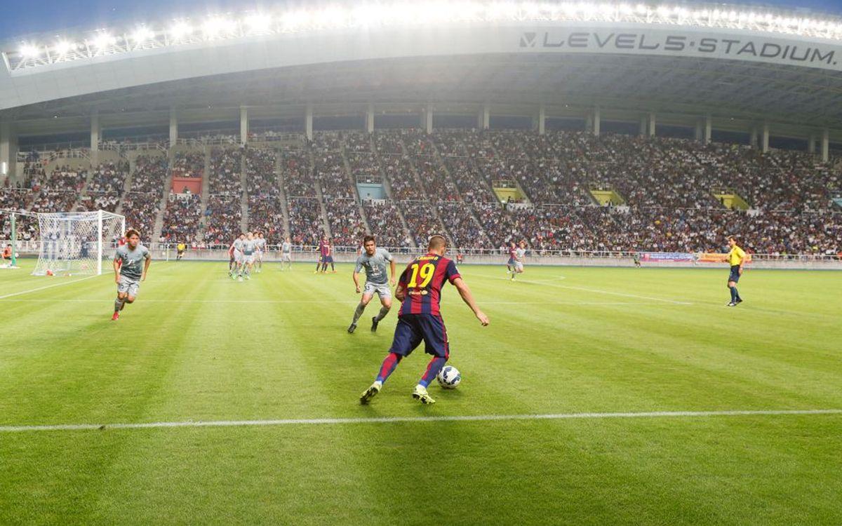 El Barça B s'imposa a l'Avispa Fukuoka (0-5)