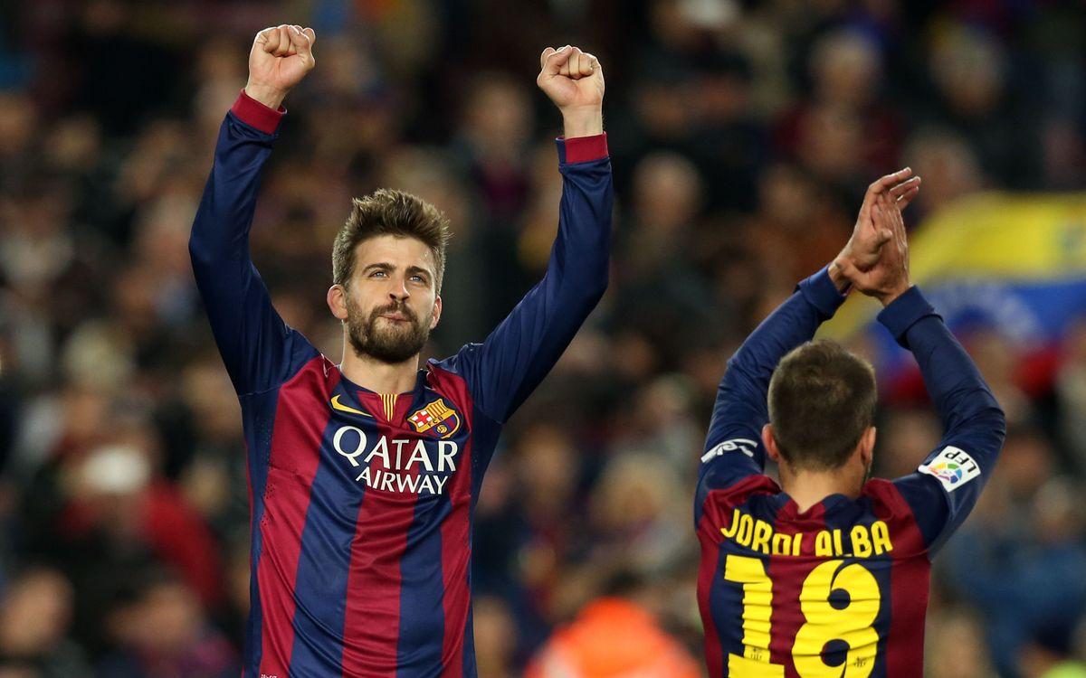 Piqué chosen as Man of the Match on Twitter