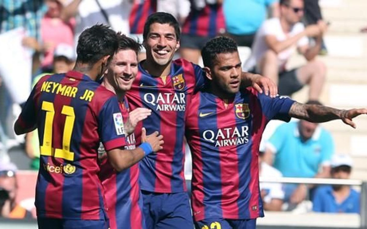 FC Barcelona thrive in Andalusian heat, rout Córdoba 8–0