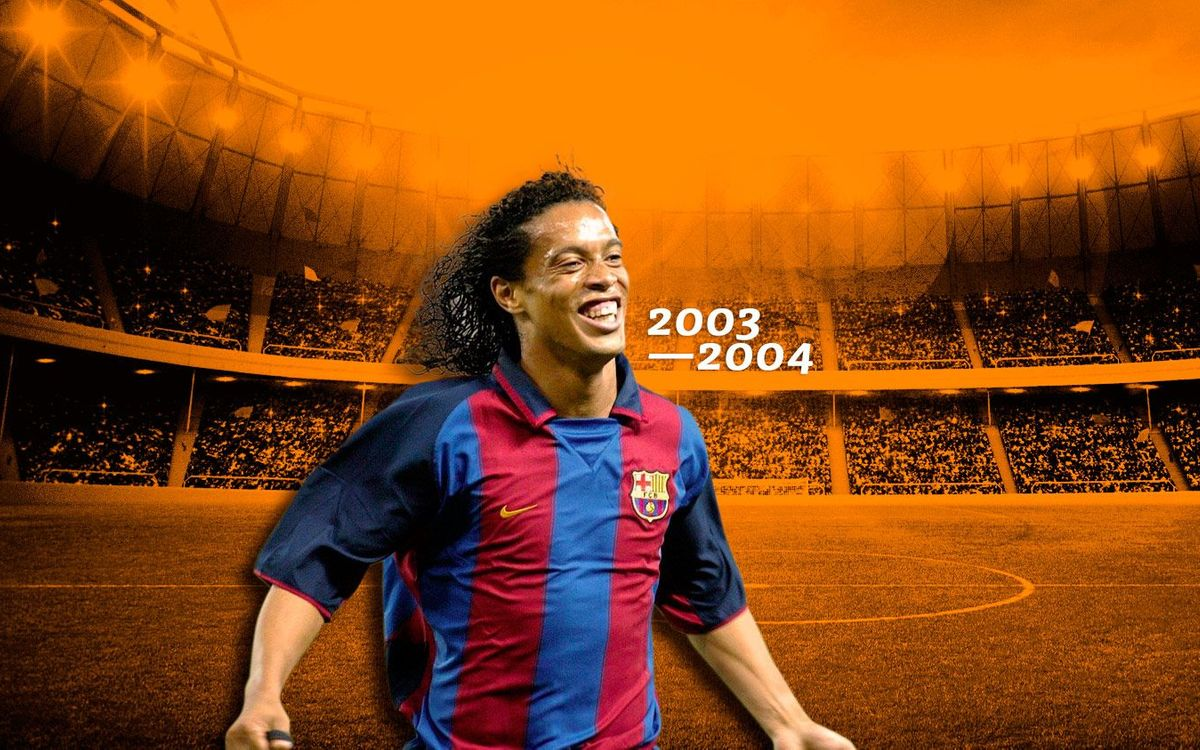 Ronaldinho's best goals 2003/2004