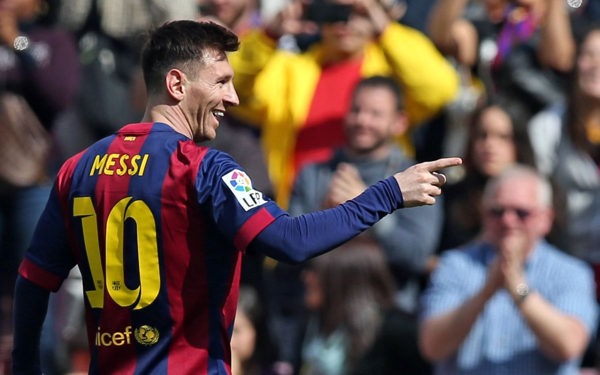 2015: Brilliant start to the year for Leo Messi