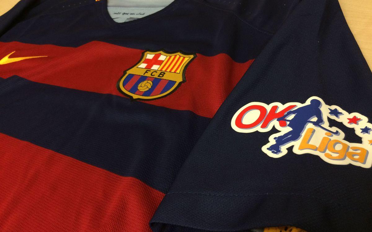 Els dorsals del Barça d'hoquei patins per al nou curs 2015/16