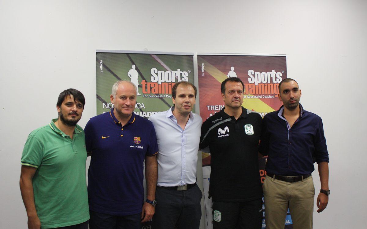 Taula rodona dels entrenadors de la Masters Cup