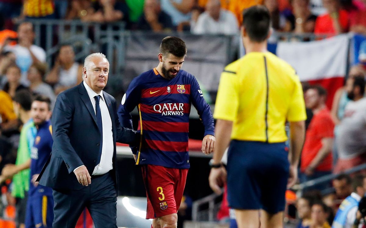 Gerard Piqué gets four-match suspension