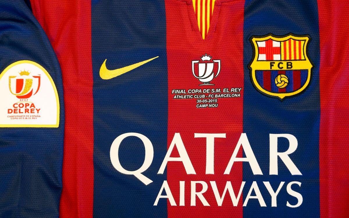 Special jersey for Spanish Cup Final