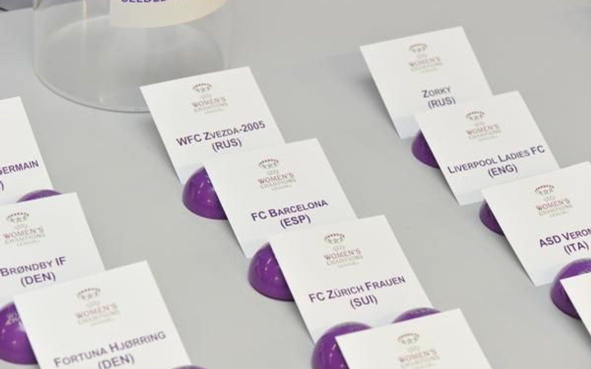 FC Barcelona to face BIIK-Kazygurt in UEFA Women's Champions League round of 16