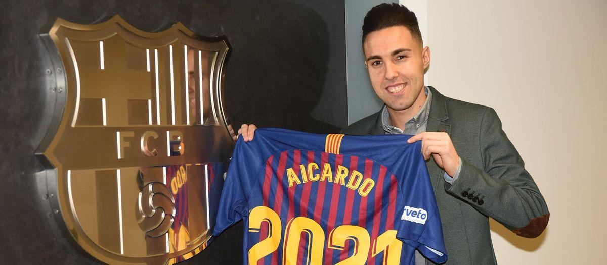 Aicardo seguirá dos temporadas más en el Barça Lassa 7dd98728876