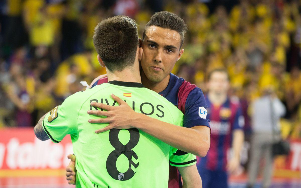FC Barcelona-Inter Movistar: Cruel last minute defeat (2-3)