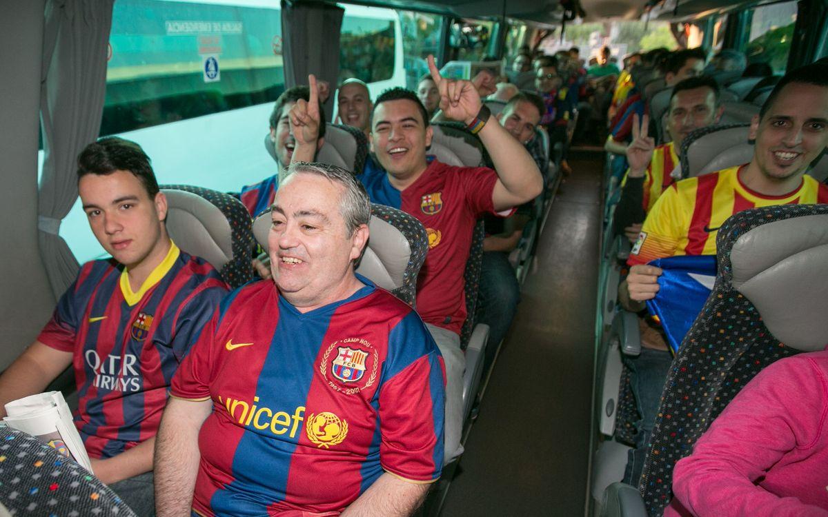Gairebé 5.000 barcelonistes es desplaçaran amb l'agència de viatges del Club