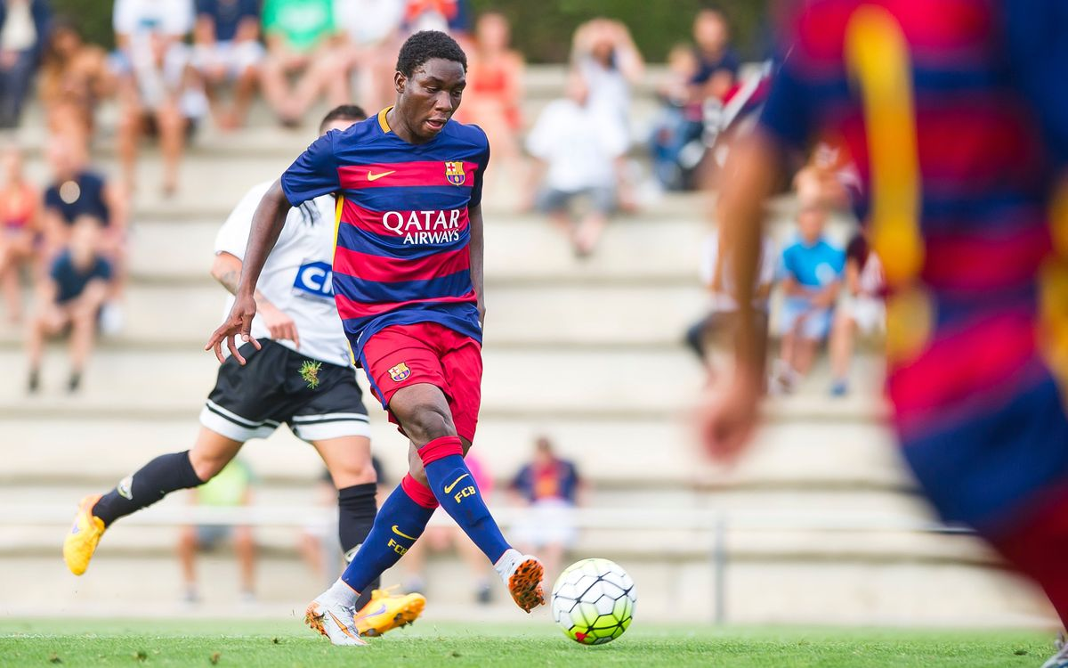 FC Barcelona B sail in 7–0 win over Horta