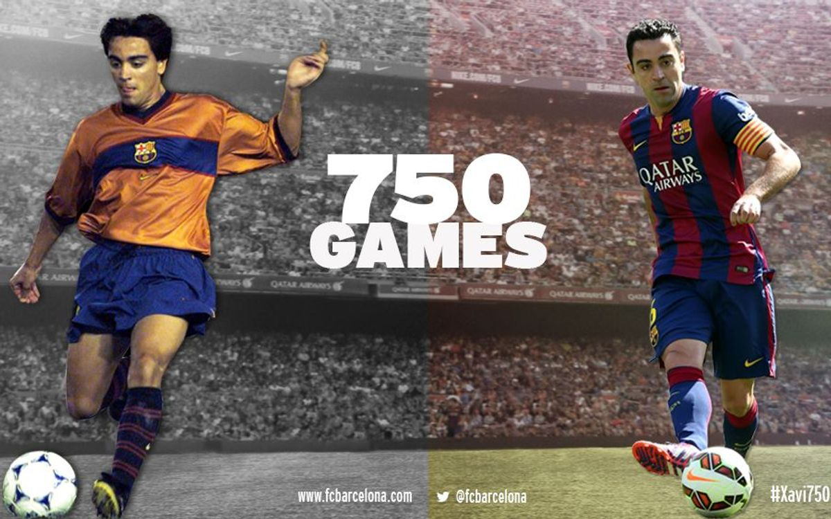 Xavi Hernández sets new record for FC Barcelona