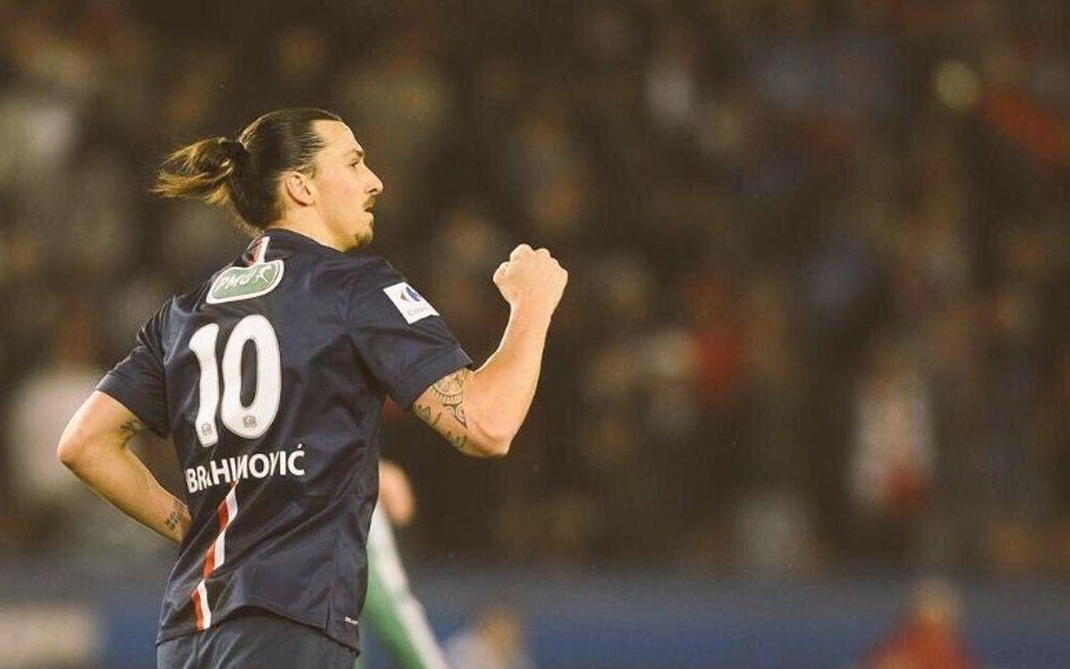 El PSG es classifica per a la final de la Copa de França (4-1)
