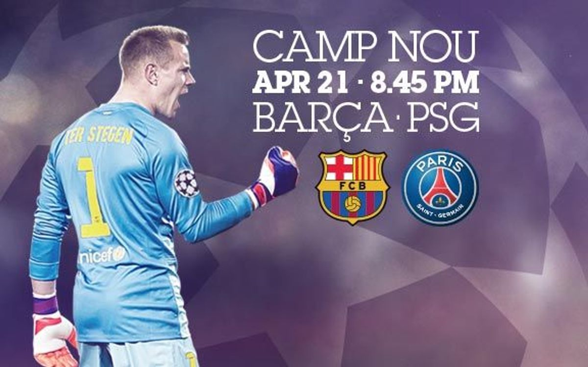 New window will open for the purchase of tickets for FC Barcelona-PSG