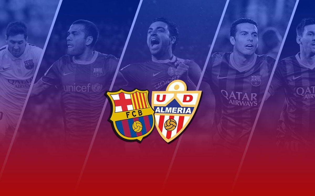TOP5: Millors gols contra l'Almeria a casa