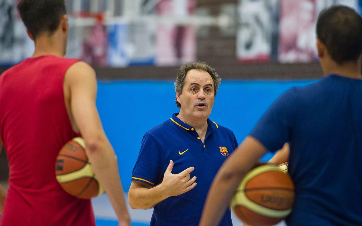 El Barça Lassa B de bàsquet competirà a la LEB Or el curs 2015/16