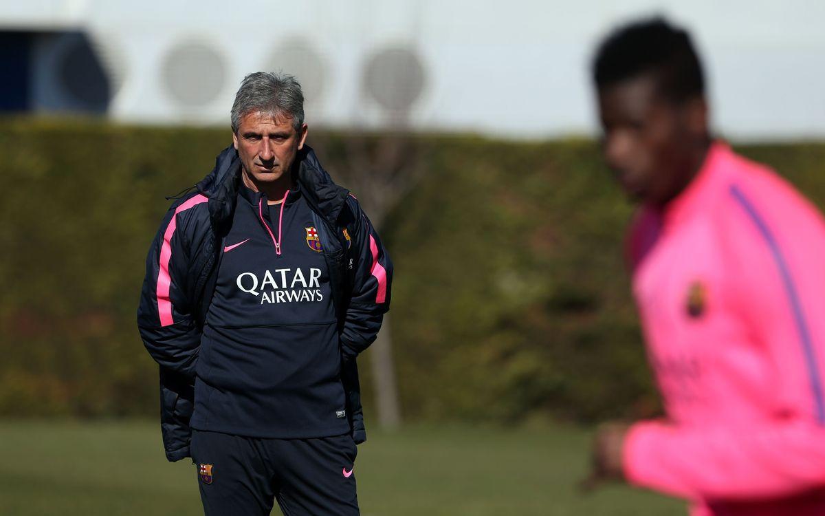 Jordi Vinyals no continuarà al Barça B la propera temporada
