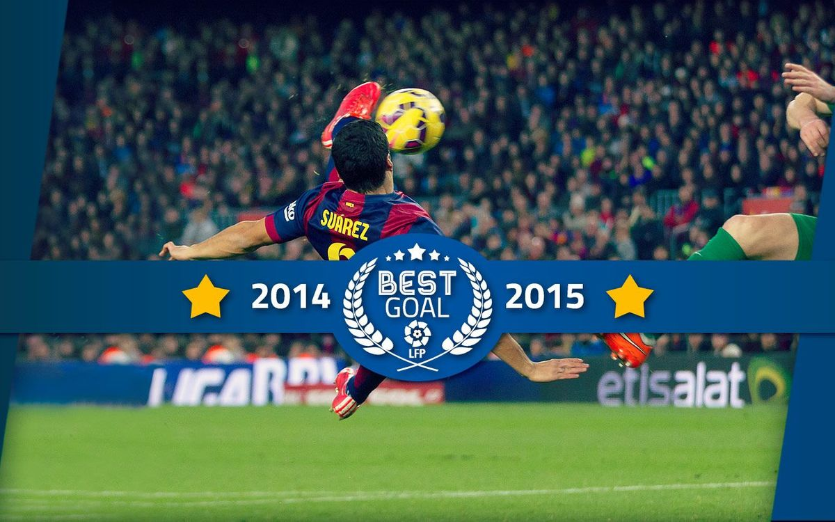 The best goal of La Liga 2014/2015, according to the fans