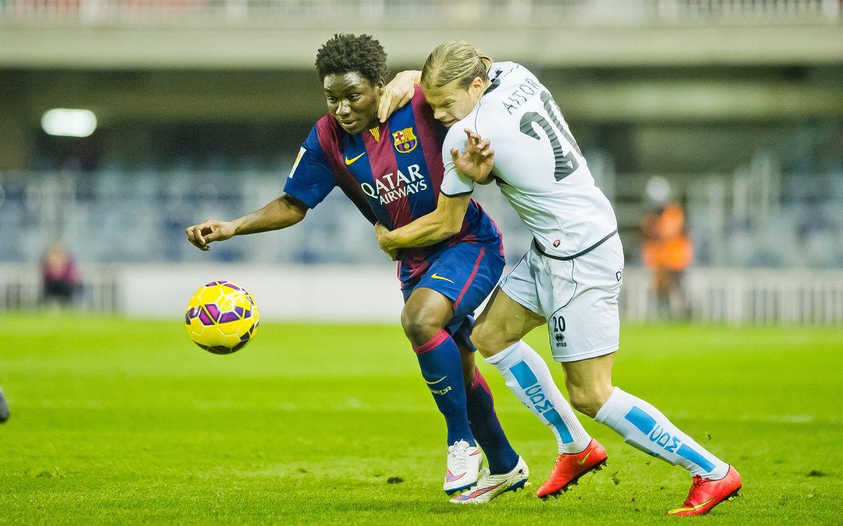 CD Mirandés – Barça B: Duel transcendental