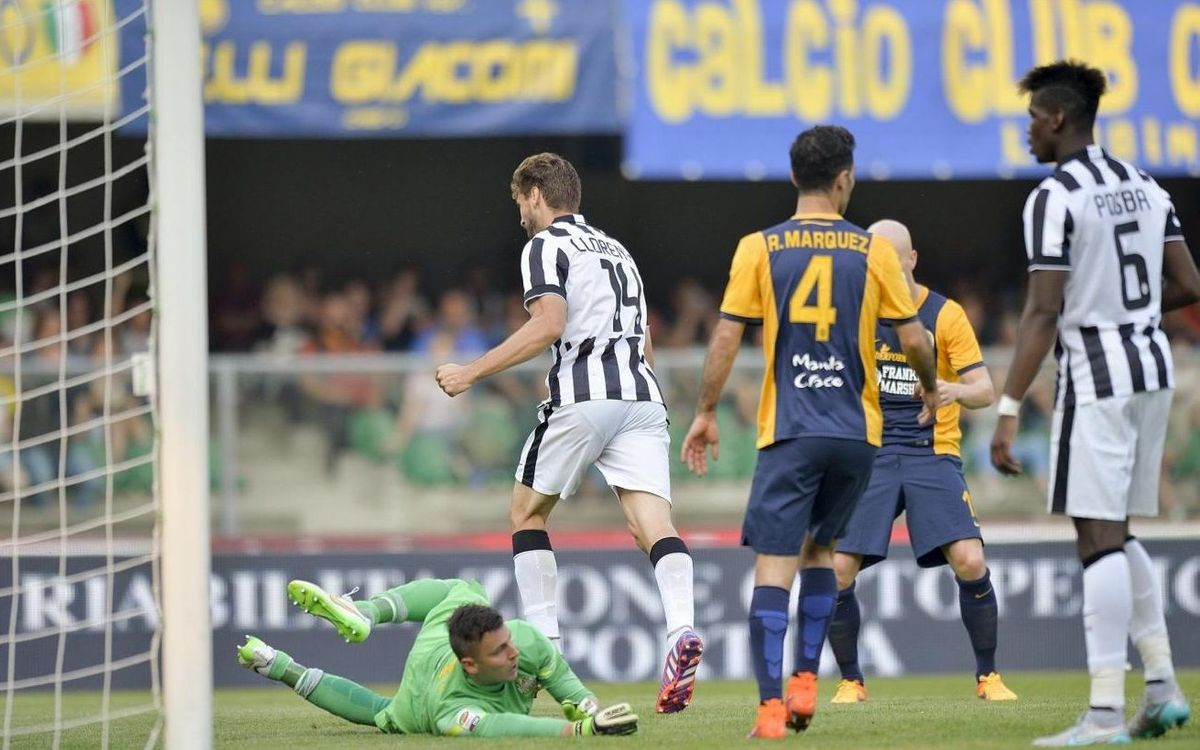 Juventus end Serie A with 2-2 draw at Hellas Verona