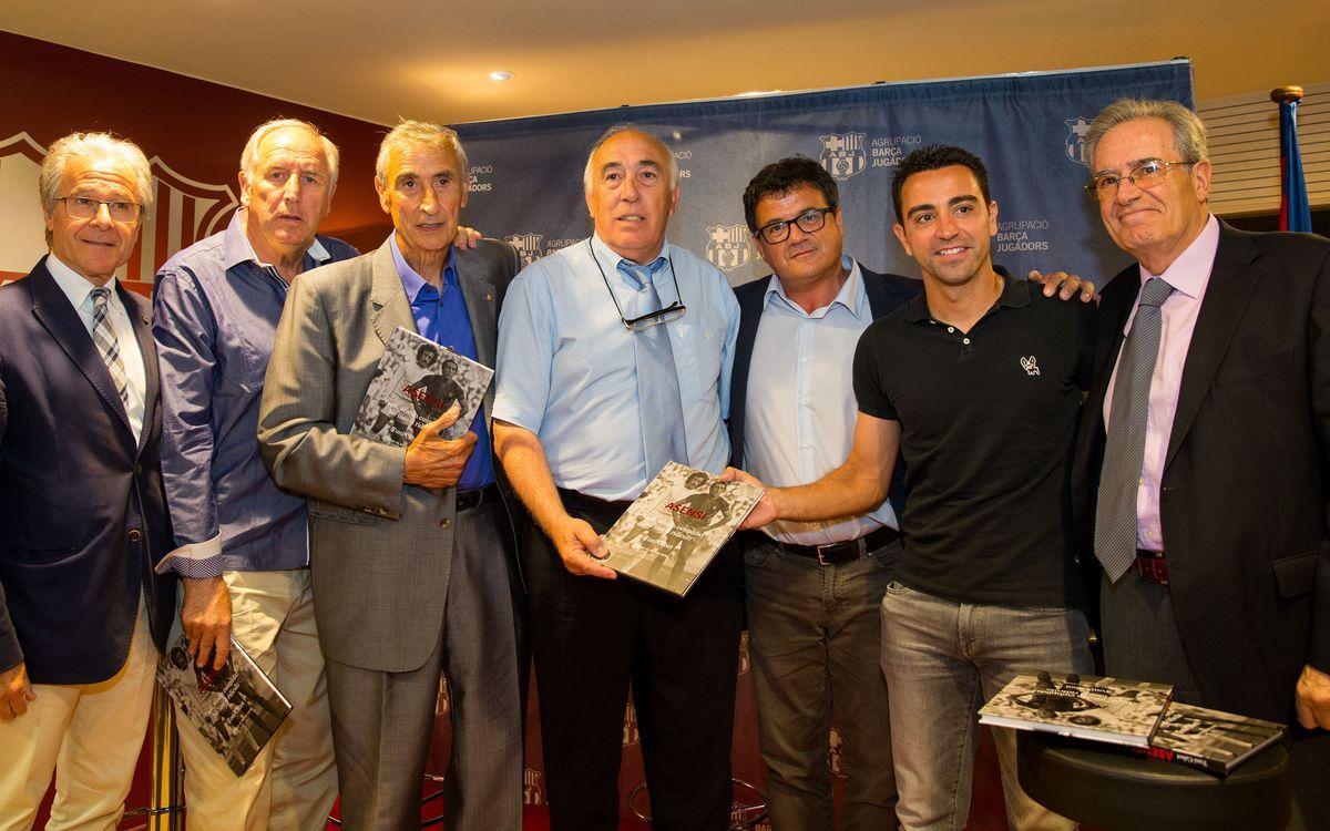 Asensi presenta la seva autobiografia a l'Agrupació Barça Jugadors