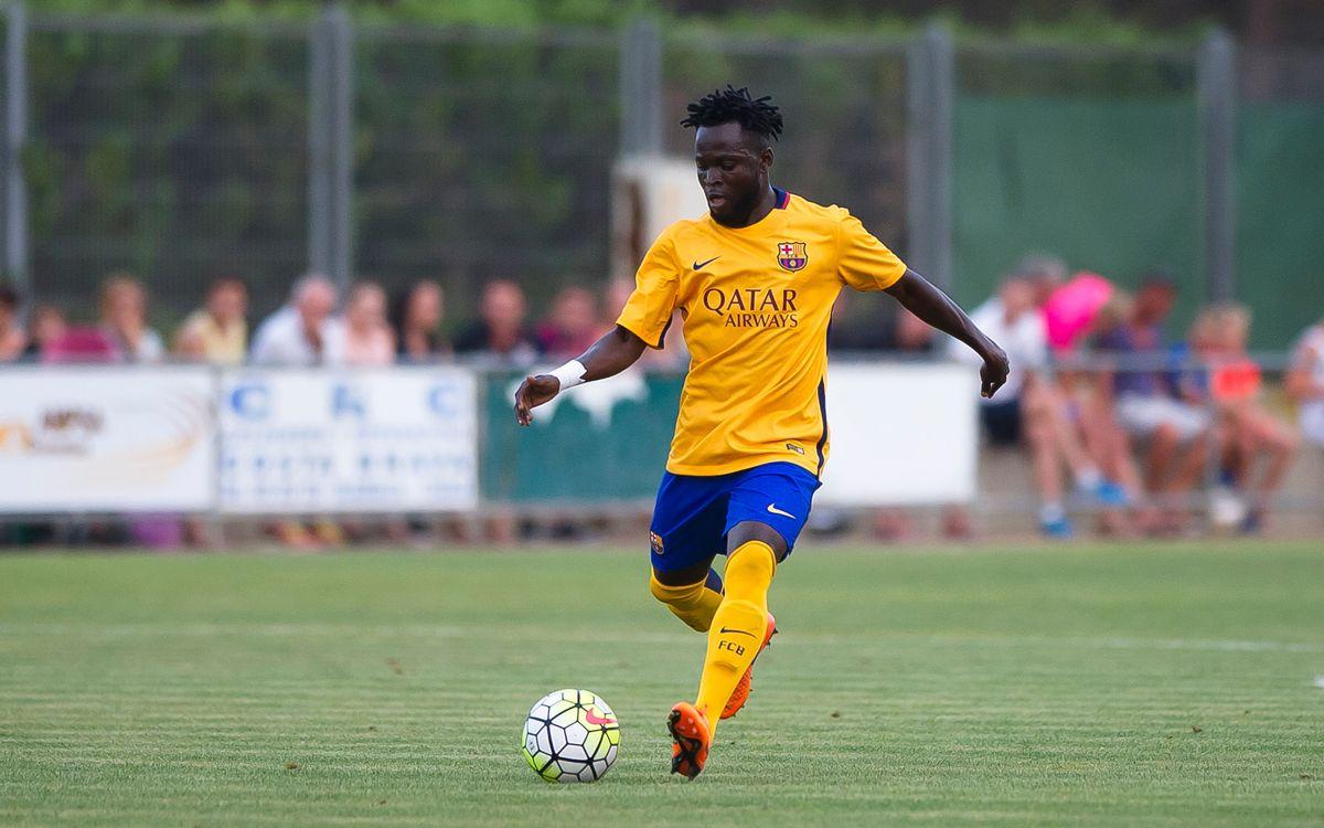 El FC Barcelona i el Lleida Esportiu arriben a un acord per a la cessió d'Agostinho Cá