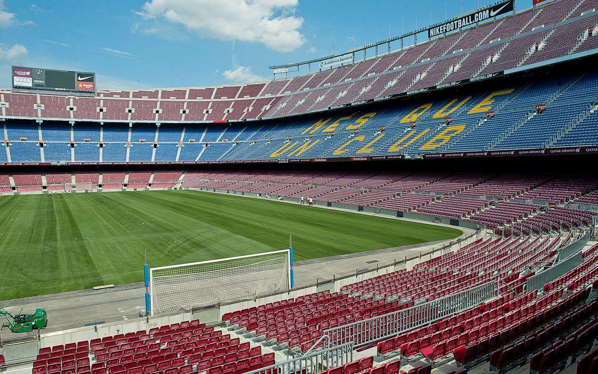 Dilluns 27 d'abril comença el procés de millora de localitats del Camp Nou