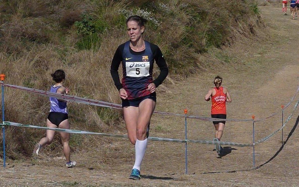 L'atleta blaugrana Natalia Rodríguez es retira