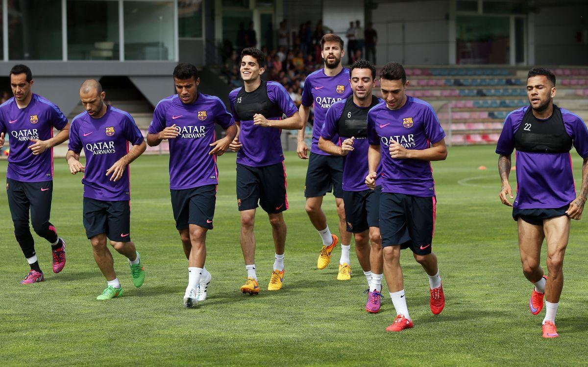Full squad headed to Munich