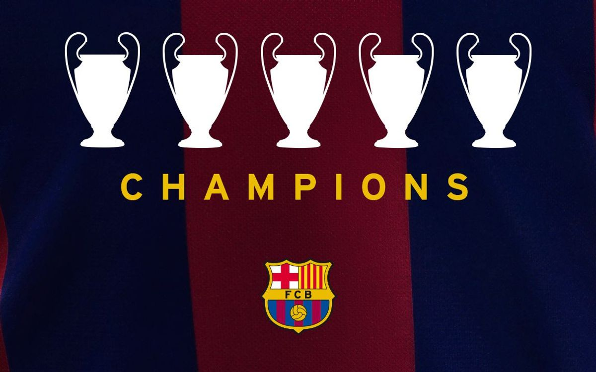 FC Barcelona win fifth Champions League