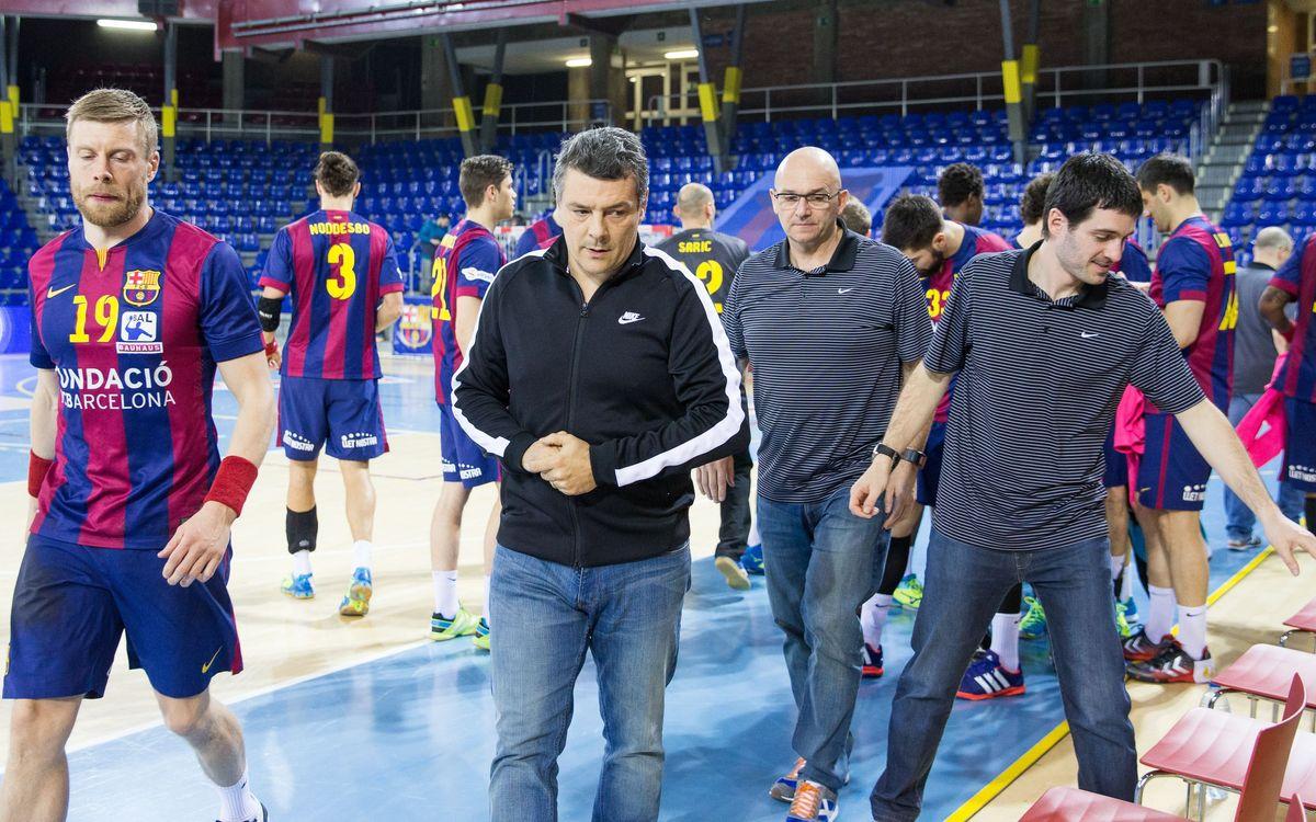 """Xavi Pascual: """"És el partit més important de la temporada"""""""