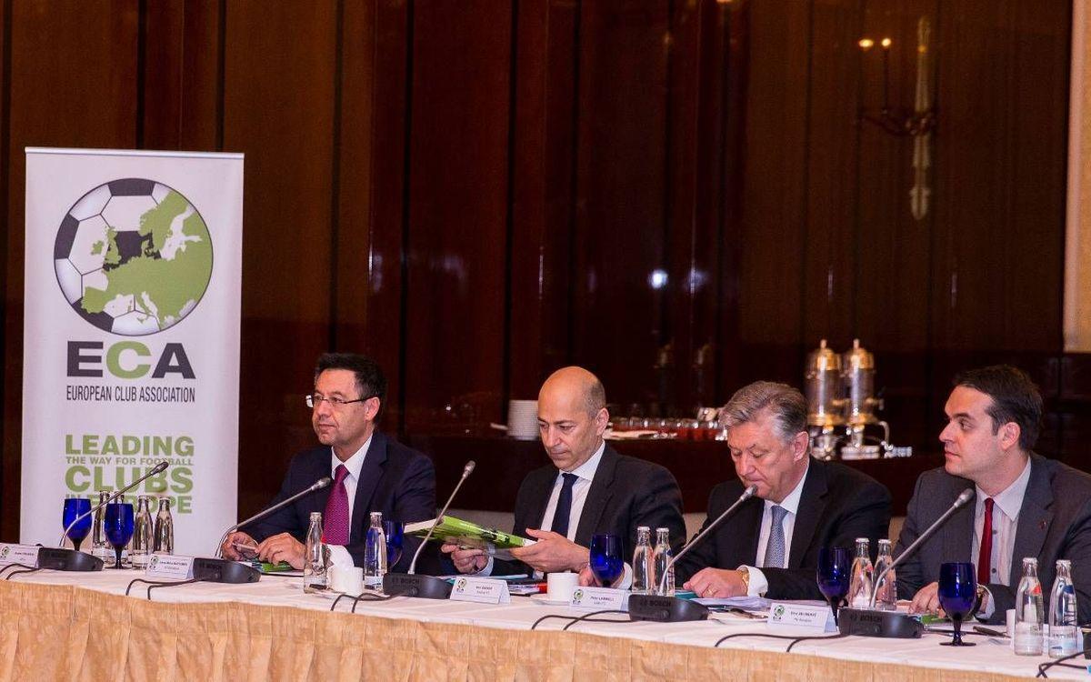 Josep Maria Bartomeu, ratificat al consell estratègic de la UEFA