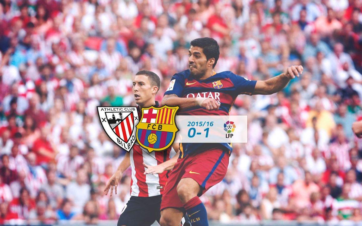 Athletic Club: 0 - FC Barcelona: 1