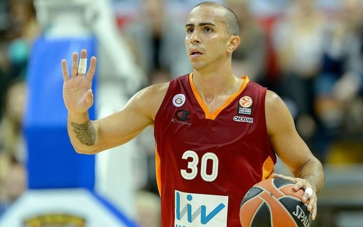 Carlos Arroyo, new FC Barcelona Lassa playmaker