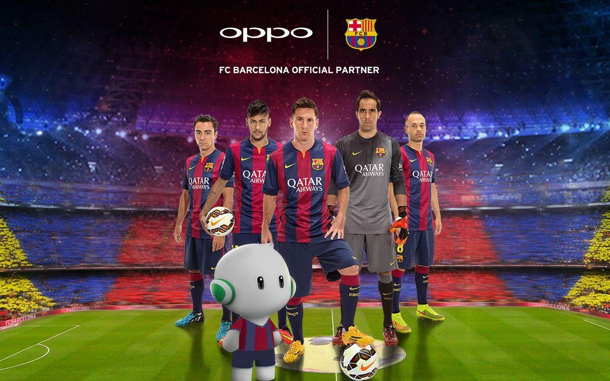 OPPO, new partner of FC Barcelona